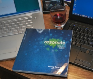 Nancy Duarte's new book Resonate arrives!